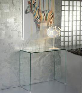 Consola Recibidor de Cristal templado Glass