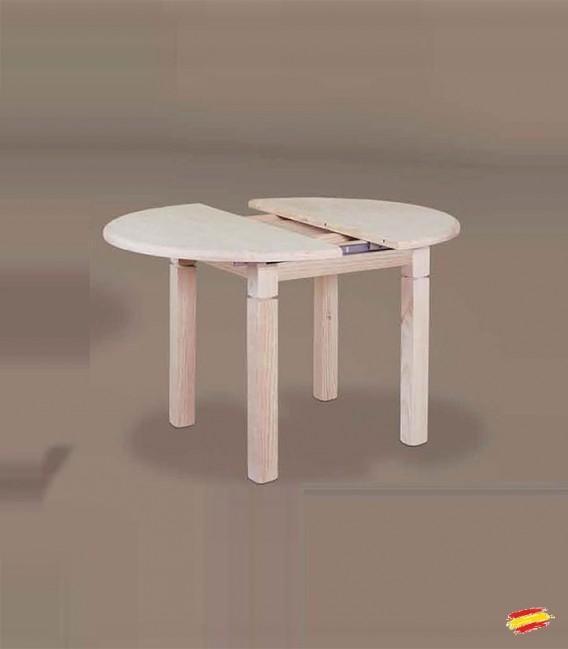 Mesa de comedor redonda pata 9x9cm 1033 compra a 260 en - Mesas camillas redondas ...
