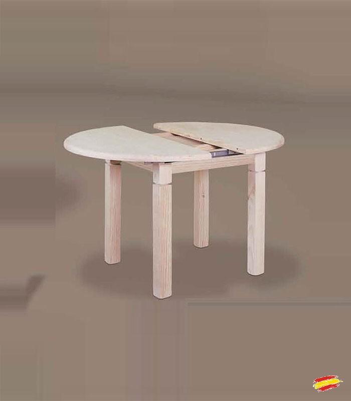 Mesa de Comedor Redonda Pata 9x9cm 1033, compra a 260 € en nuestra ...