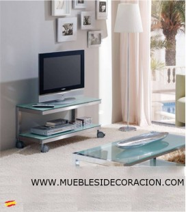 MESA TV DE ACERO INOXIDABLE M-026