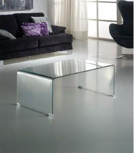 Mesa de Centro de Cristal Templado Glass