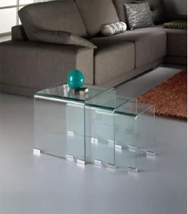 Mesa de Rincón de Cristal Nido