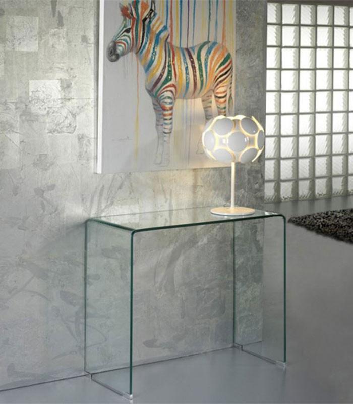 Consola recibidor de cristal glass compra a en - Consola para recibidor ...