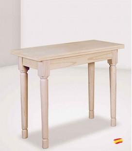 Mesa de cocina Abatible con Pata de 7x7cm 1036