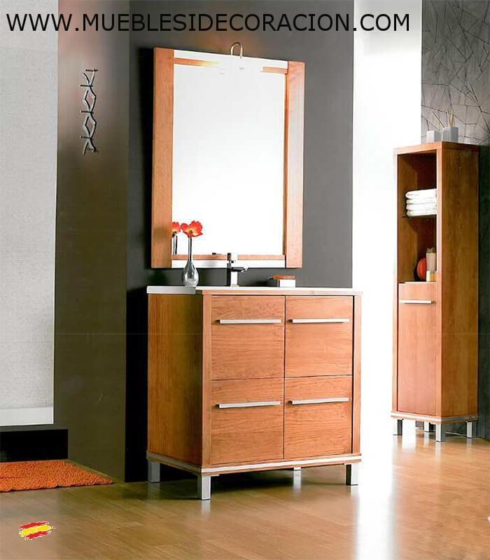 Mueble de ba o poseidon 80 cm n 4 compra a 429 en for Muebles de bano 140 cm