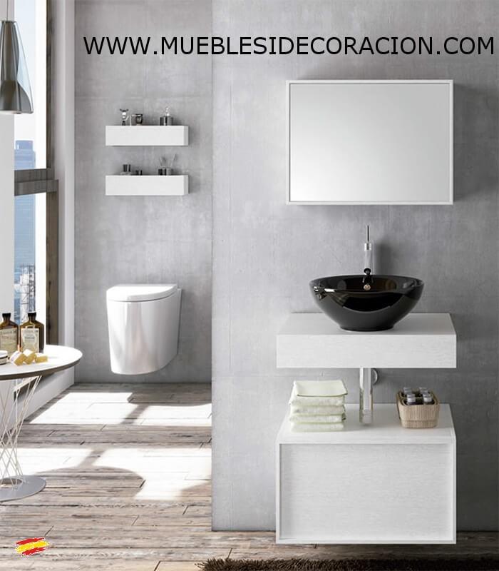 Mueble de ba o 60 cm suspendido alt 12 compra a 403 en for Muebles de cocina 60 cm