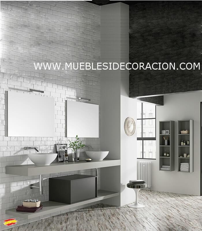Mueble de ba o 180 cm alt 07 compra a 1235 7 en nuestra for Mueble salon 180 cm