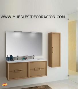 MUEBLE DE BAÑO 120 cm SUSPENDIDO DECOR.08