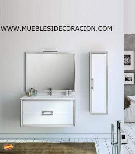 MUEBLE DE BAÑO 100 cm SUSPENDIDO DECOR.07