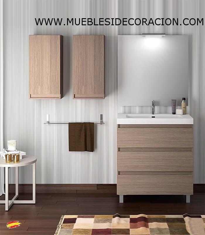 Mueble de ba o 80 cm bo compra a 287 en nuestra tienda for Muebles de bano 140 cm