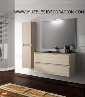 MUEBLE DE BAÑO 100 cm SUSPENDIDO BOX.03