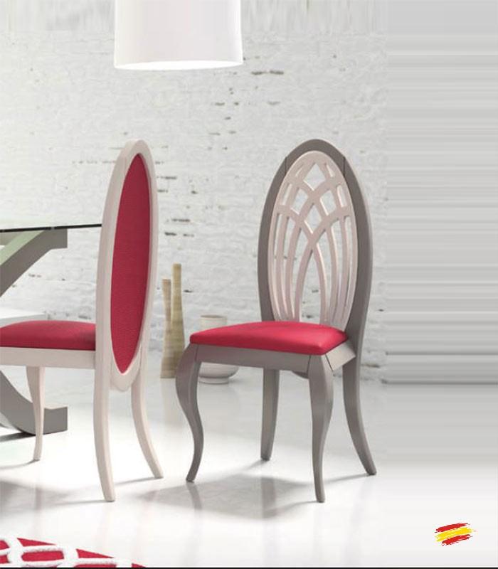 Sillas isabelinas modernas affordable silla dormitorio de - Sillas isabelinas modernas ...