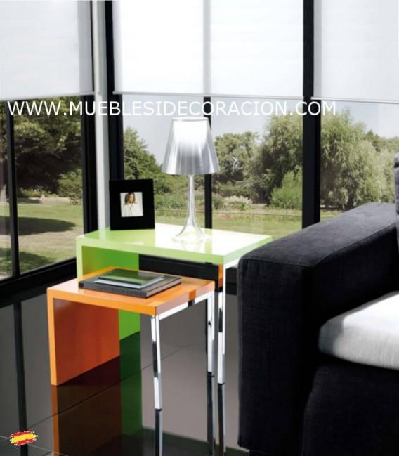 MESITAS AUXILIARES DE ACERO M-038 y M-039