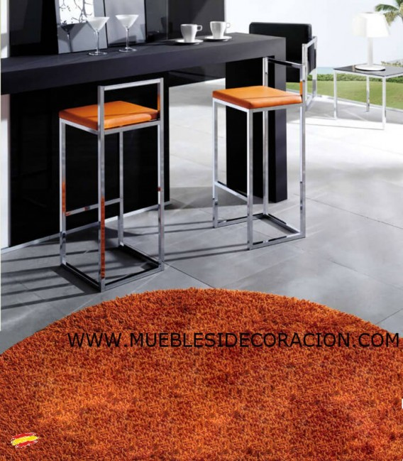 TABURETE ALTO DE ACERO INOXIDABLE M-049