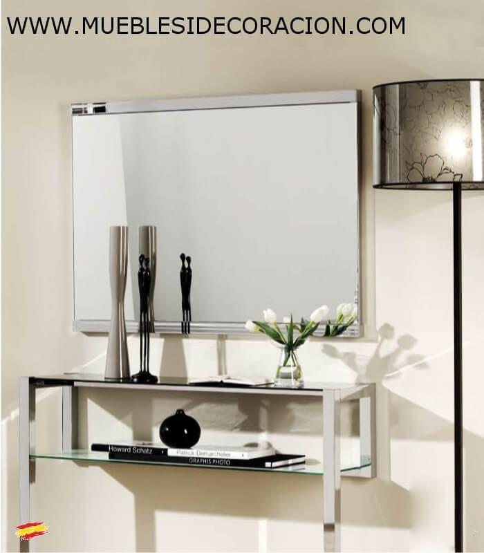 Espejos a medida sin marco amazing como decorar un espejo sin marco desenos de casas ideas with - Espejo a medida ...