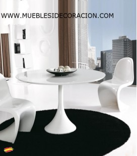 MESA MODERNA REDONDA M-114
