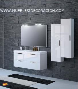 MUEBLE DE BAÑO DE 60 cm SUSPENDIDO LON