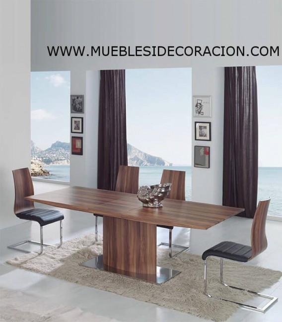 MESA DE COMEDOR MODERNA EXTENSIBLE TD-02