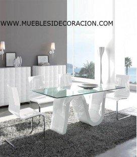 MESA DE COMEDOR MODERNA TD-04