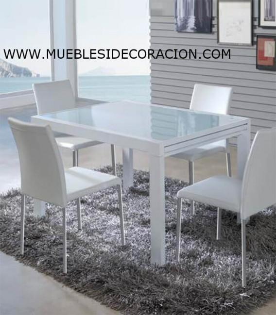 MESA DE COMEDOR EXTENSIBLE TD-10