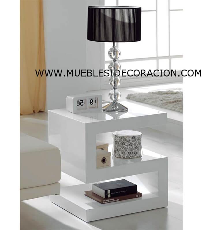 Mesa auxiliar moderna td 2520 compra a 196 en nuestra tienda de muebles y decoraci n - Mesas auxiliares modernas ...