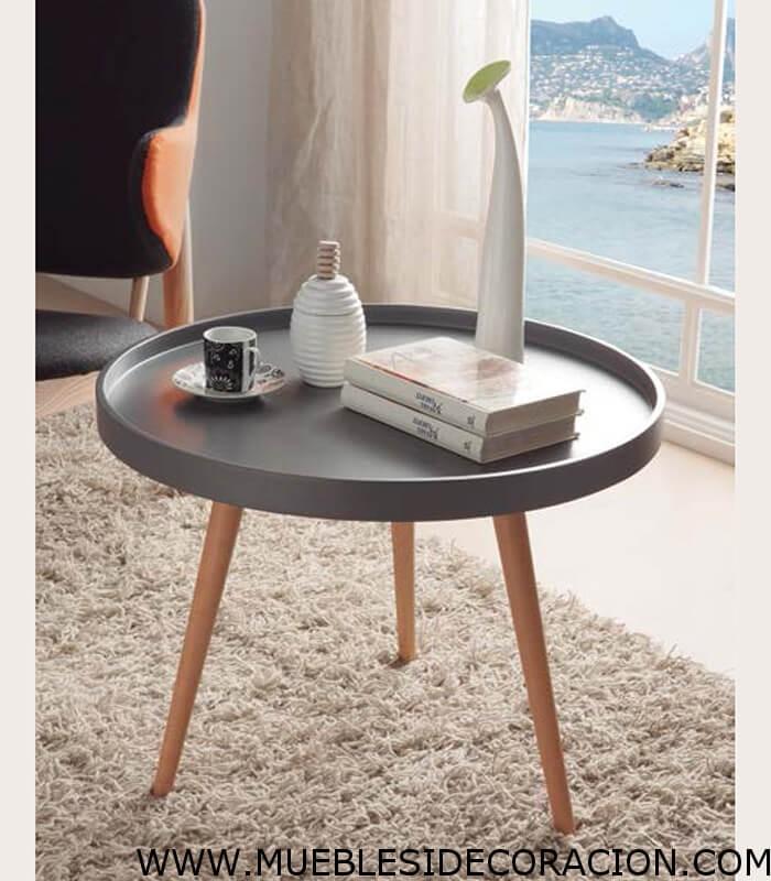 Mesa auxiliar redonda tc 902 compra a 142 en nuestra tienda de muebles y decoraci n - Mesa auxiliar redonda ...