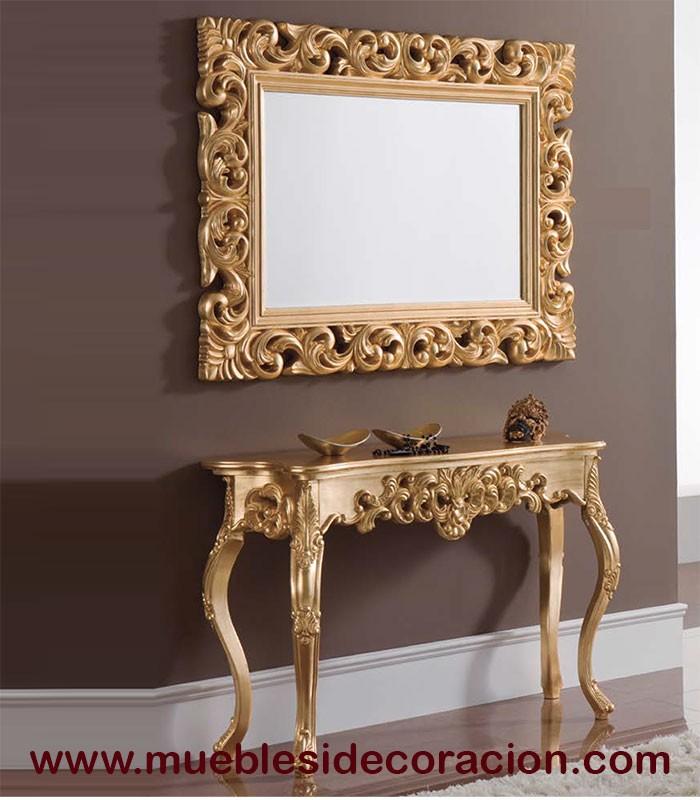 Espejo barroco tallado 0499 compra a 229 en nuestra for Compra de espejos