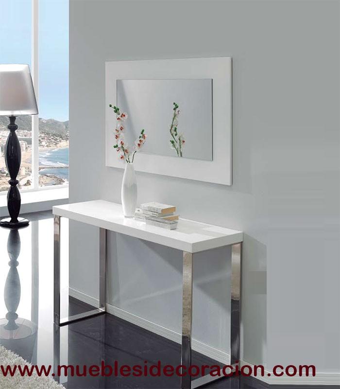 Espejo moderno rectangular 966 compra a 149 en nuestra for Compra de espejos