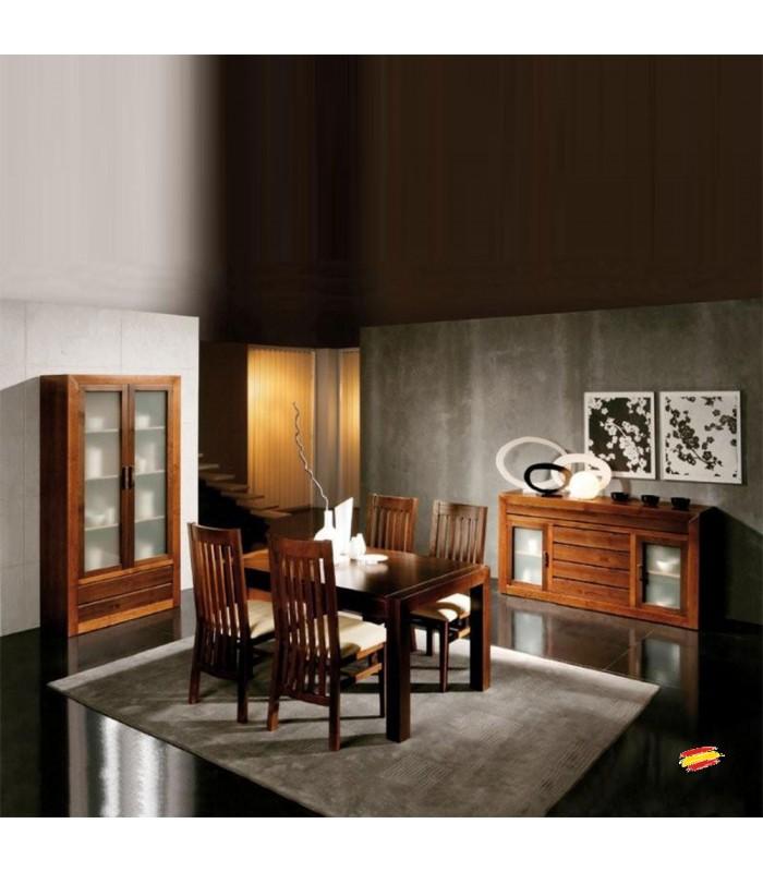 Sal n comedor cl sico 18 compra a en nuestra tienda de muebles y decoraci n - Salon comedor clasico ...