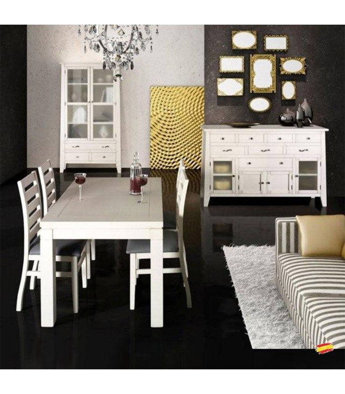 Sal n comedor cl sico 20 compra a en nuestra tienda de muebles y decoraci n - Salon comedor clasico ...