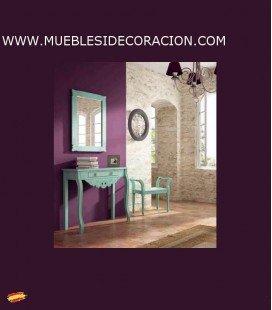 CONSOLA RECIBIDOR TALLADA 3010