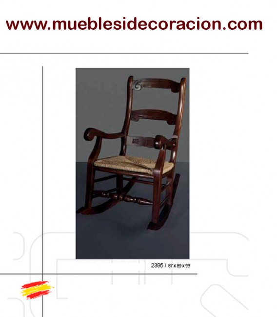MECEDORA BUTACA RUSTICA DE ENEA 2395