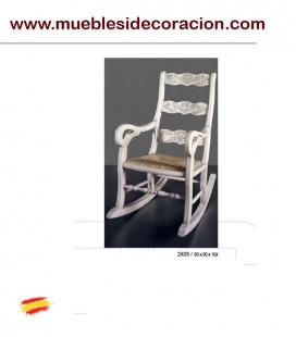 MECEDORA BUTACA RUSTICA TALLADA DE ENEA 2405