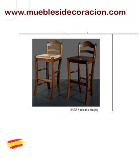 TABURETES CON RESPALDO ALTOS ENEA 3133