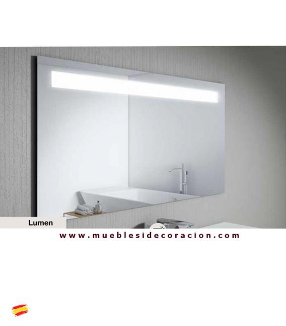 Espejo retroiluminado modelo lume compra a en nuestra tienda de muebles y decoraci n - Espejo retroiluminado bano ...