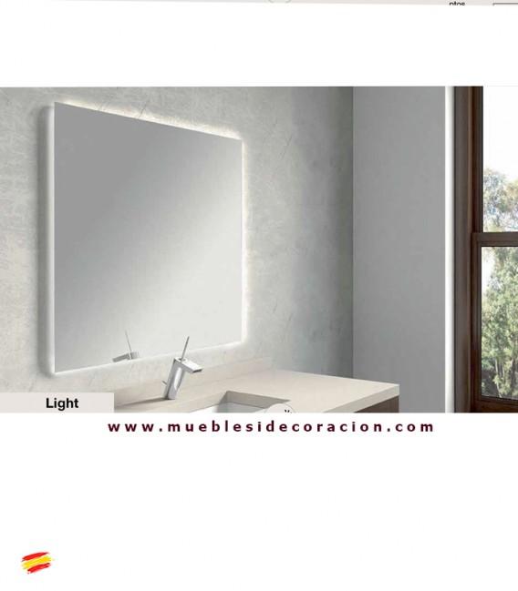 Espejo de ba o retroiluminado light compra a en nuestra tienda de muebles y decoraci n - Espejo retroiluminado bano ...