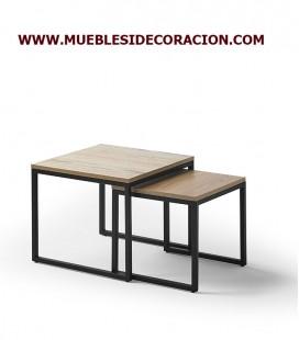 JUEGO DE MESAS CENTRO MODERNAS TC-907