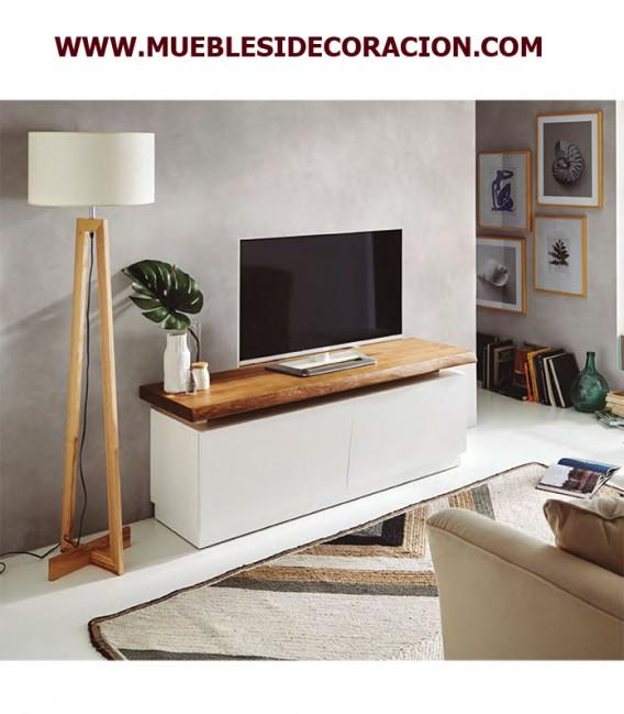 MESA TV NATURAL MACIZA REF. VT-120